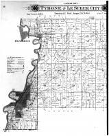 Tyrone and Le Sueur City, East St. Peter, East Henderson - Left, Le Sueur County 1898